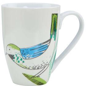 SUMMER BIRDS Tasse Vogel blau