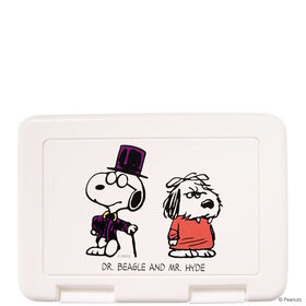 PEANUTS Brotdose Dr. Beagle & Mr. Hyde