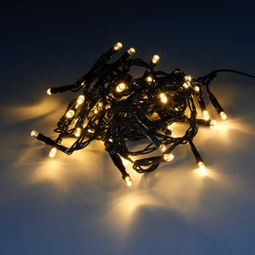 HAPPY HOLIDAYS LED Outdoor Lichterk. 48L
