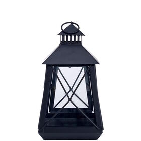 LIGHTHOUSE Laterne 25cm, schwarz