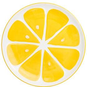 LEMON Teller Zitrone groß