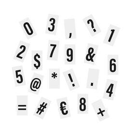 BLOCKBUSTER 85 Zahlen/Zeichen Light box