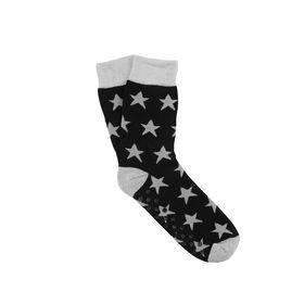 COZY SOCKS Socke Stern schwarz 35-38