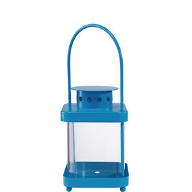 LIGHTHOUSE Laterne 17cm, blau