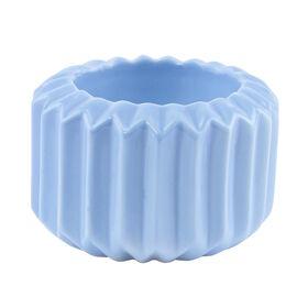 SPHERE Teelichthalter hellblau