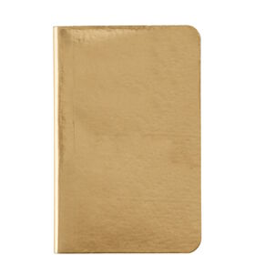 JOURNAL Notizbuch A6 gold