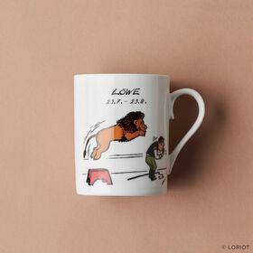LORIOT Kaffeetasse Löwe
