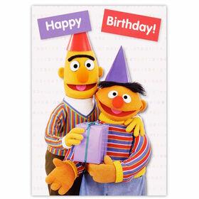 CARD Ernie&Bert Happy Birthday