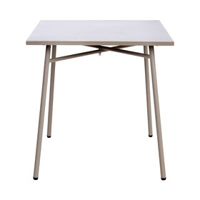 CARREFOUR Tisch 75x75 cm taupe