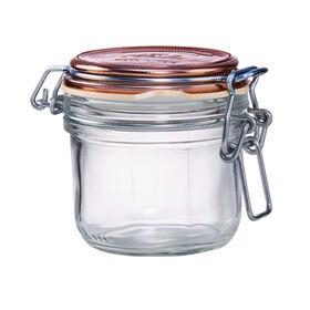 FIDO Aufbewahrungsglas 200 ml kupfer