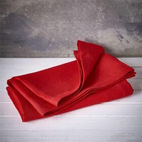 COMPOSITION Tischdecke rot 150x300 cm