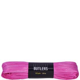 RAFFIA Geschenkband pink 20m