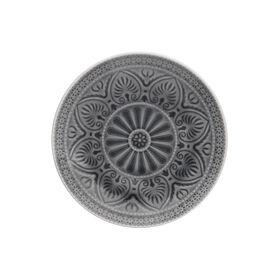 SUMATRA Teller Ø 21 cm, grau