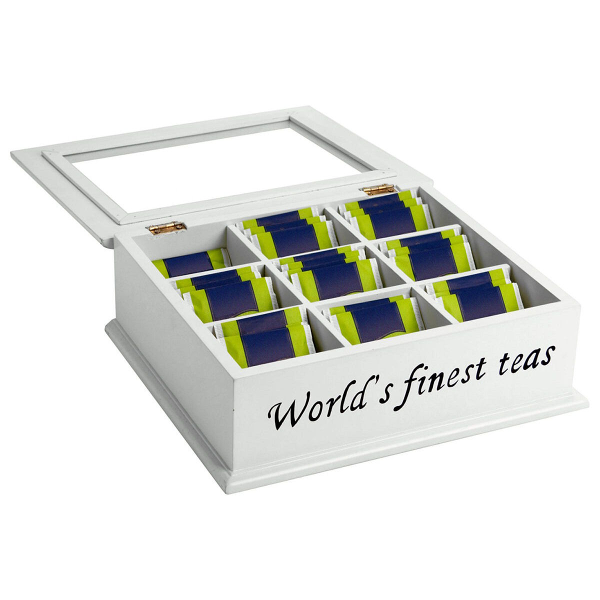 "CAMPAGNE Teedose""The World's finest tea"""