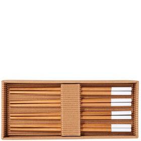 MIKADO Stäbchen Bambus/weiß 4 Paare Set