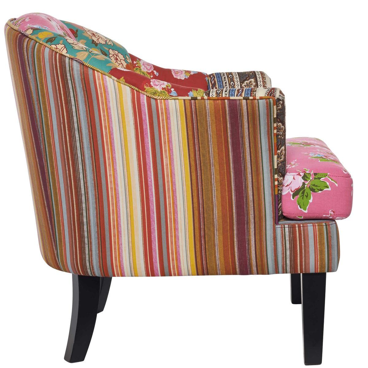 patch patchwork sessel rosa butlers. Black Bedroom Furniture Sets. Home Design Ideas