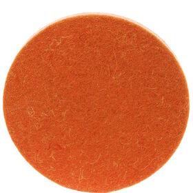 FELTO Wollfilz-Untersetzer orange