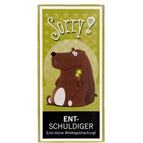 "GREETS ""Entschuldiger"" Schokolade 100g"