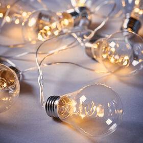 BRIGHT LIGHTS LED Glühbirnenkette 10L