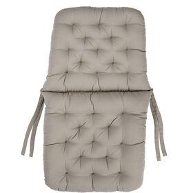 BARETTO Stuhlauflage taupe