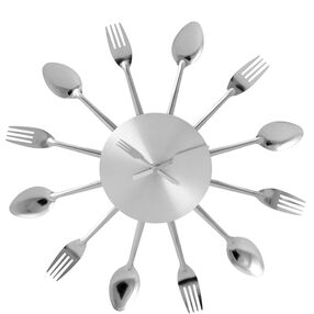 EAT O'CLOCK Wanduhr Ø 38 cm