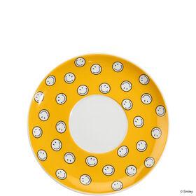 SMILEY Unterteller allover gelb 14,0 cm