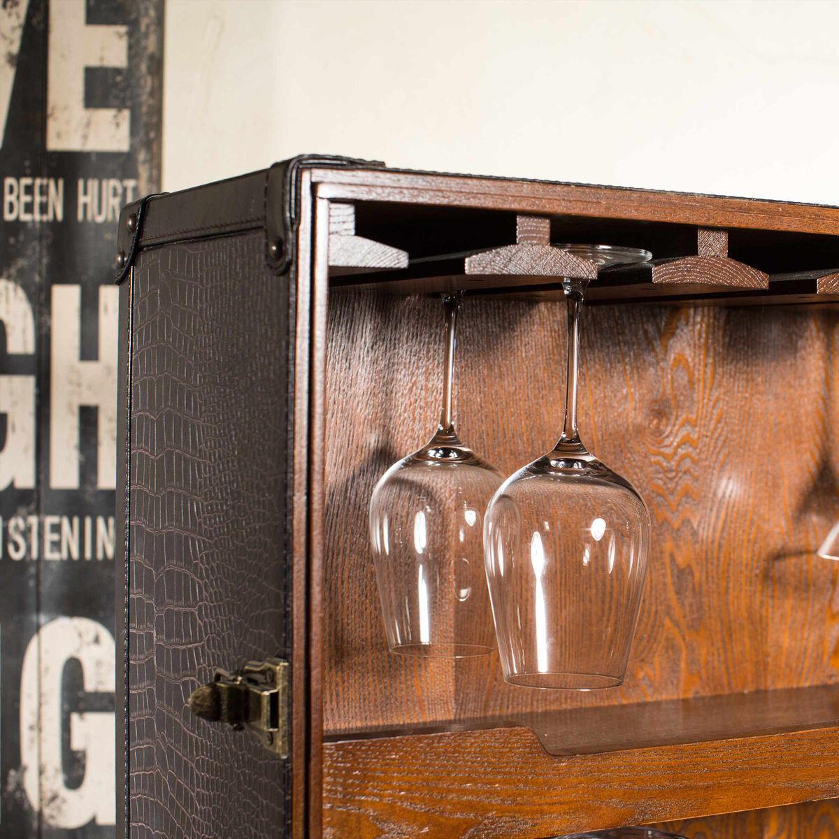 HEMINGWAY Koffer-Bar mit separatem