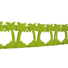 ALOHA Papiergirlande Palme 4m