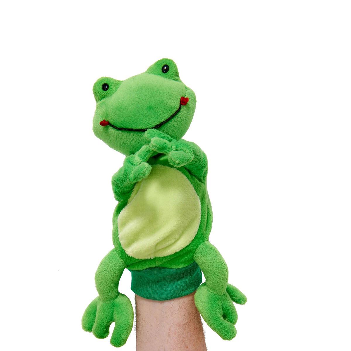 WILD GUYS Handpuppe Frosch