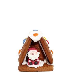 """X-MAS Lebkuchen Haus """"Santa"""" 120g"""