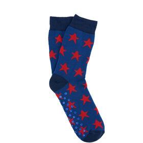 COZY SOCKS Socke Stern blau 35-38