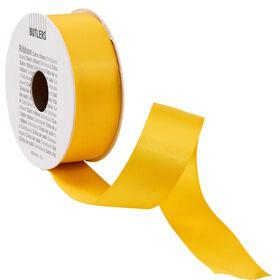 RIBBON Satinband 5m x 25mm, gelb