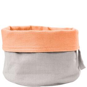 SPHERE Brotkorb Baumwolle pastell grau
