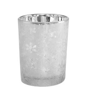 DELIGHT Teelichthalter Eiskristall 6cm