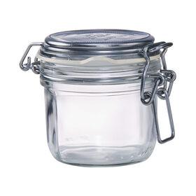 FIDO Aufbewahrungsglas 200 ml silber