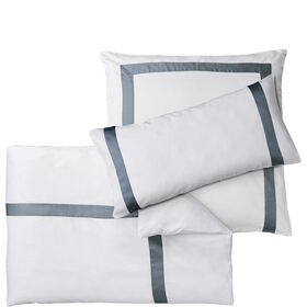 NEW HAVEN Bettwäsche weiß-grau