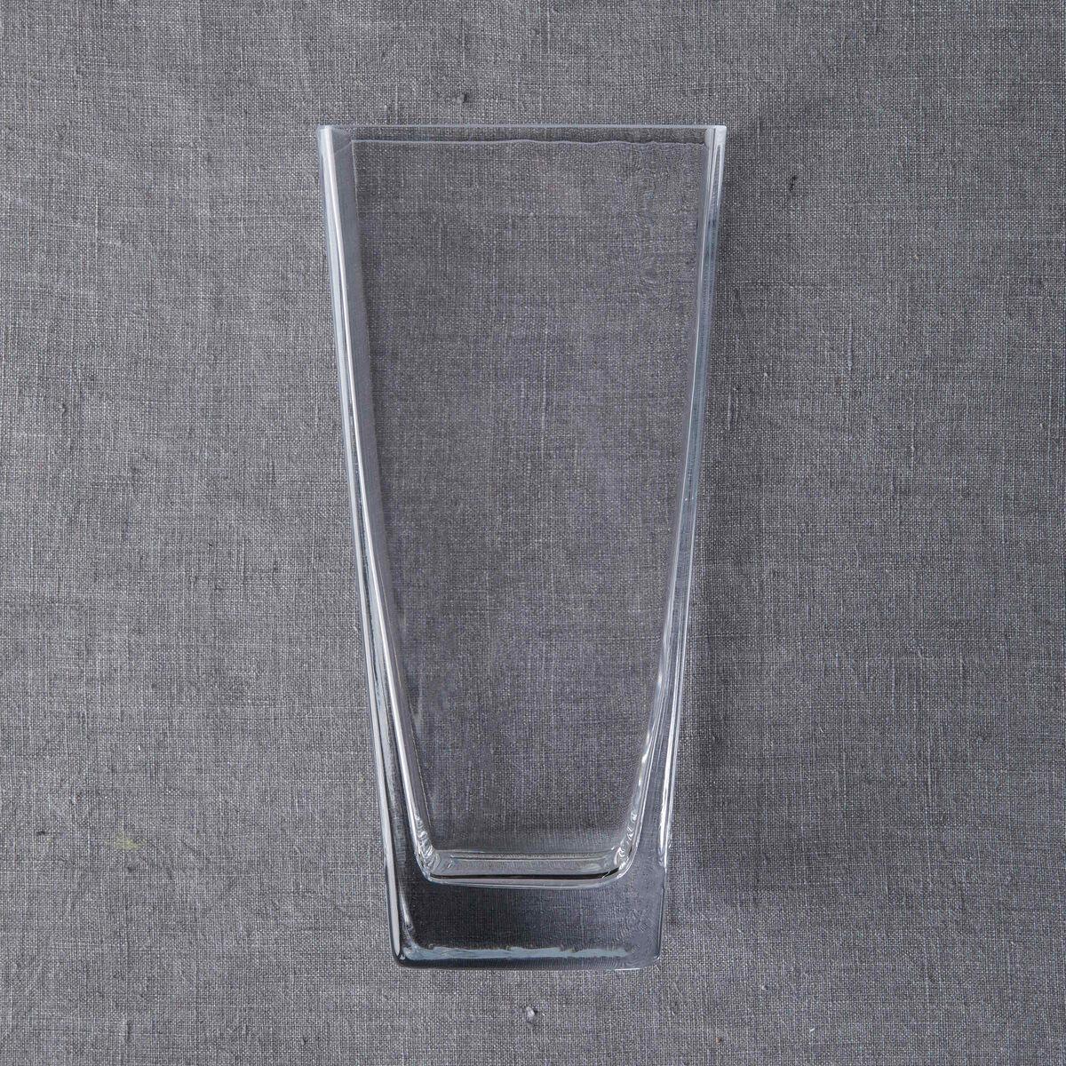 ALMUT Vase klar 25cm