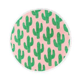 BEACH LIFE Handtuch rund Kaktus