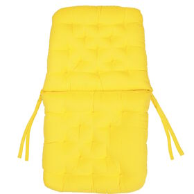 BARETTO Stuhlauflage gelb