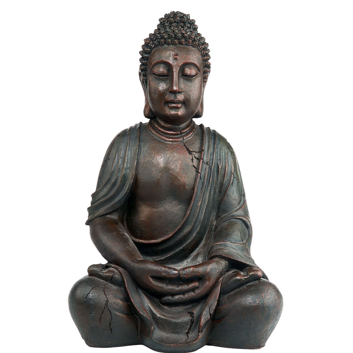 buddha deko figur braun 50cm butlers. Black Bedroom Furniture Sets. Home Design Ideas