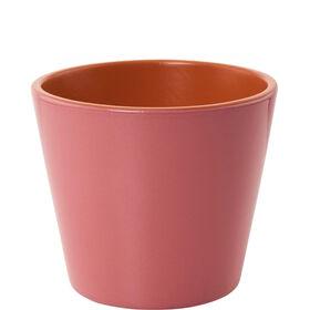 GLAZE Terracotta Blumentopf 11cm rosa