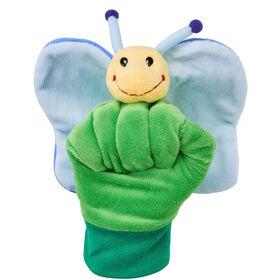 WILD GUYS Handpuppe Schmetterling