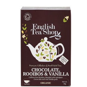 ENGLISH TEA SHOP Roibusch Schoko-Vanille