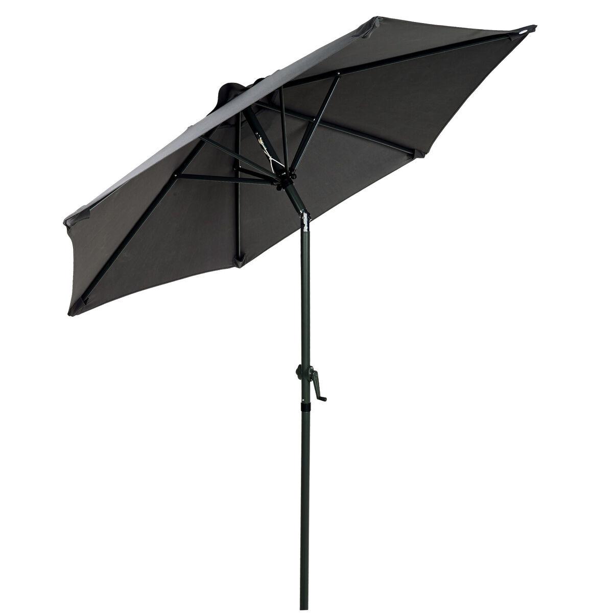 SIESTA Sonnenschirm anthrazit Ø 1,8 m