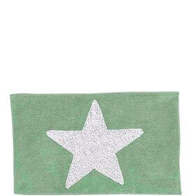 MIAVILLA Badematte Star grün 60x100cm