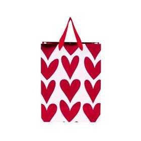 HEART TO HEART Geschenktasche Herzen kle