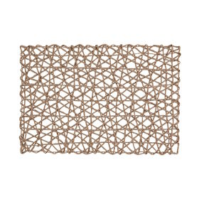 SCATTERS Tischset Papier gedreht taupe