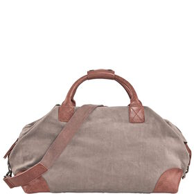 TRAVELLER Canvas Tasche taupe