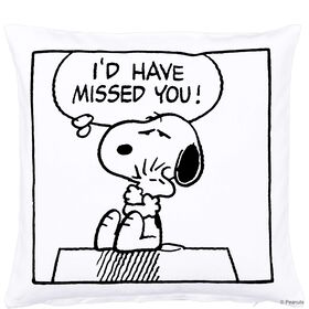 "PEANUTS Kissen ""Missed you"" 40x40"