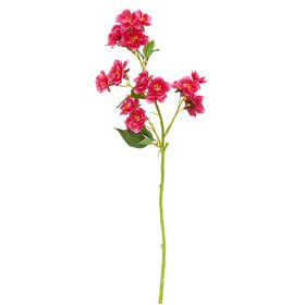 FLORISTA kleiner Kirschblütenzweig,pink
